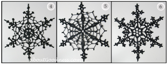 7 Diy Tips Crochet Snowflake Ornaments Aboutgoodness