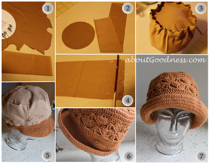 Crochet cloche hat DIY tutorial