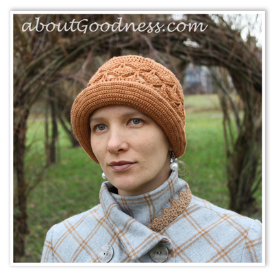 Crochet Cloche Hat Pattern DIY Tutorial | aboutGoodness.com