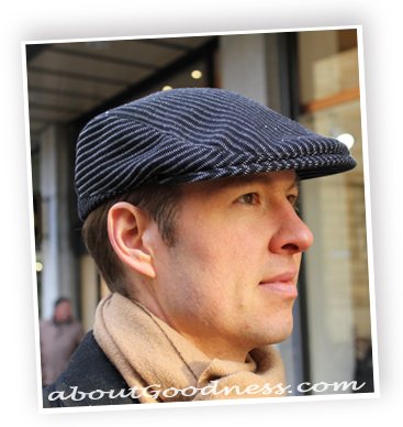 6ab03189e68 Pattern and tutorial for men´s Flat cap or Gatsby hat