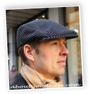 Pattern and tutorial for men´s Flat cap or Gatsby hat