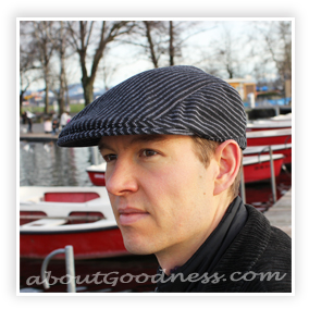 19564cc8acd Men s Flat Cap   Gatsby Hat  Pattern DIY Tutorial