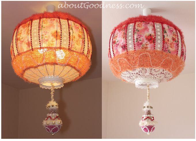 lampshade boho unique