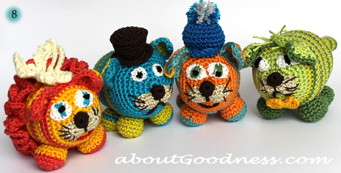 How to make crochet  toy eyes